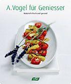 Mit dem A.Vogel Kochbuch wird gesundes Essen zum puren Genuss. 180 Seiten, über 80 Rezepte, 70 ganzseitige Farbfotos,   ISBN 978-3-906404-21-9  CHF 38.–