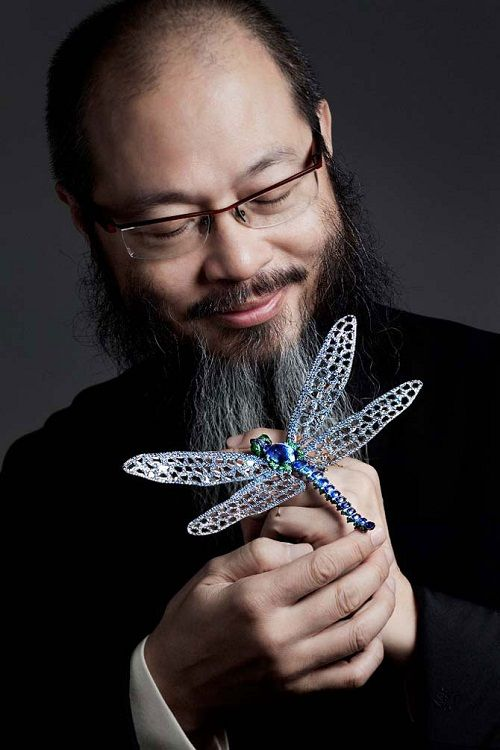 Wallace Chan famous jewelry designer from Asia Art Pinterest