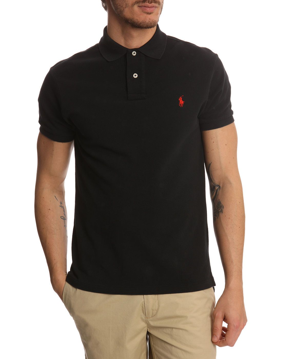 black ralph lauren polo shirts