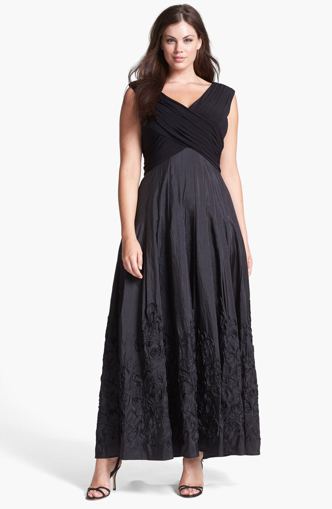 Patra Jersey & Embellished Taffeta Ball Gown | Nordstrom | dress ...