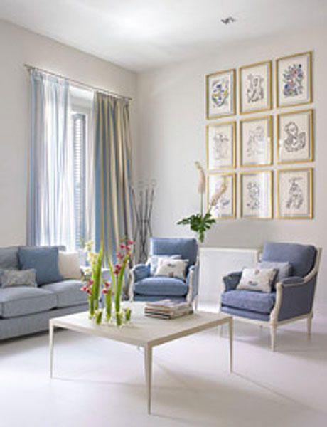 Decora con cuadros el salón | Azulejos | Pinterest | Salón, Cuadro y ...