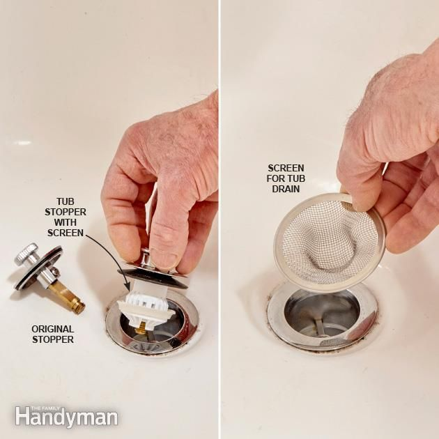 Why Didn't I Think of That? Bathtub drain, Cleaning