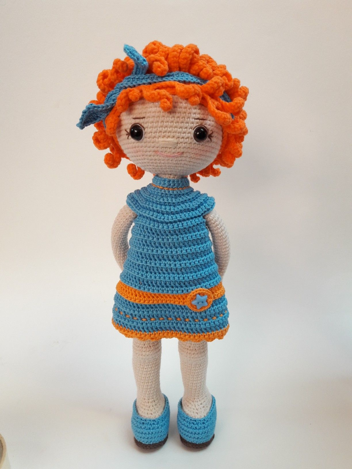 My Little Bebe Crochet Doll Pattern, PDF Download, Amigurumi Doll ... | 1632x1224