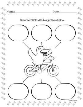 Duck On A Bike Activities Duck On A Bike Activities Book Activities