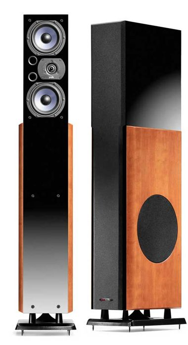 Lsi25 polk audio: ring radiator tweeters, cast aluminum driver frames, aerated polypropylene drivers, 22Hz-@7kHz lows 30Hz - highs 26kHz, 4ohms, and sooooo beautiful. XD