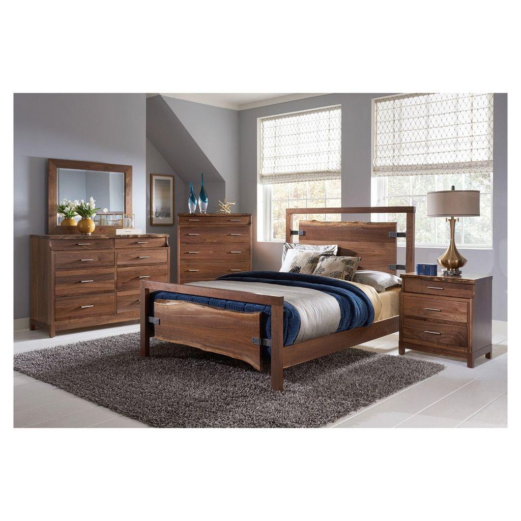 Westmere bed bedroom pinterest live edge furniture wood types