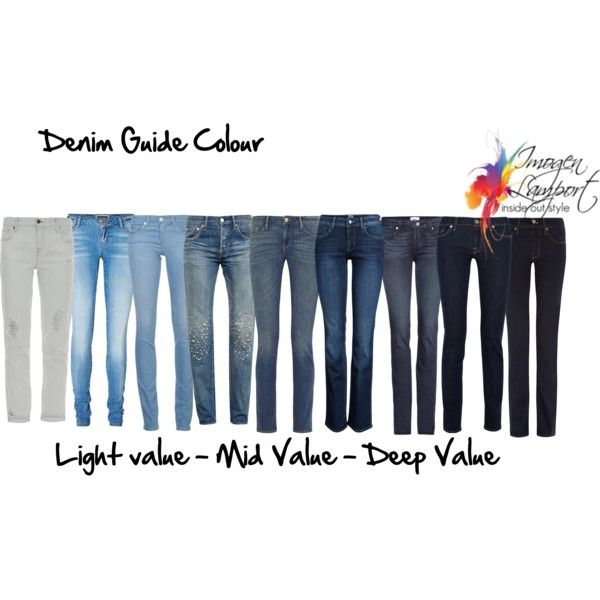 Denim Guide Colour With Images Dark Outfits Colorful