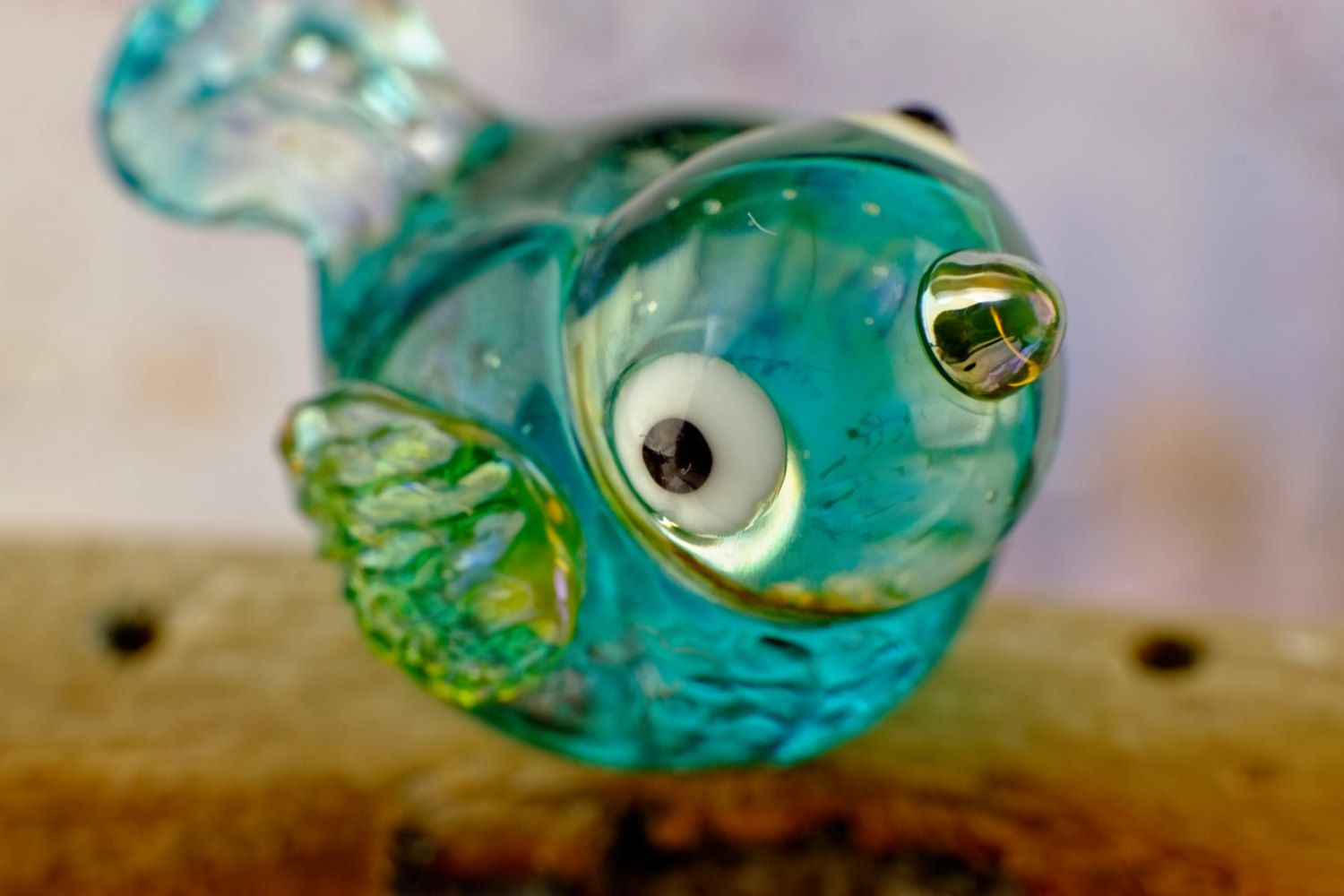 Angel..... lampwork bird bead....... sra by DeniseAnnette on Etsy