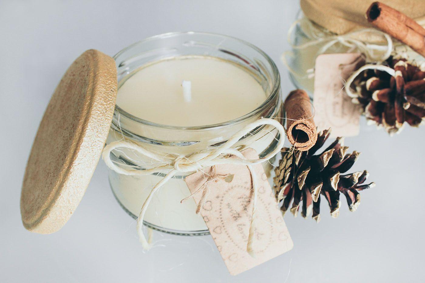 DIY Zimt Kerzen selber machen zu Weihnachten • Yeah Handmade