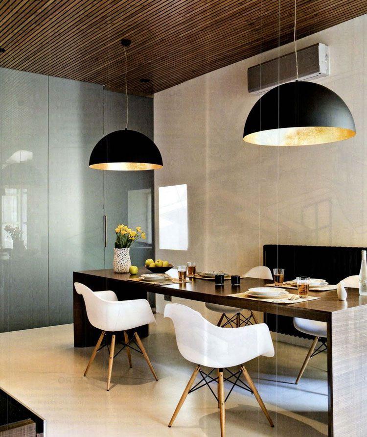 Inspiratie voor het inrichten van een moderne eetkamer | Interiors