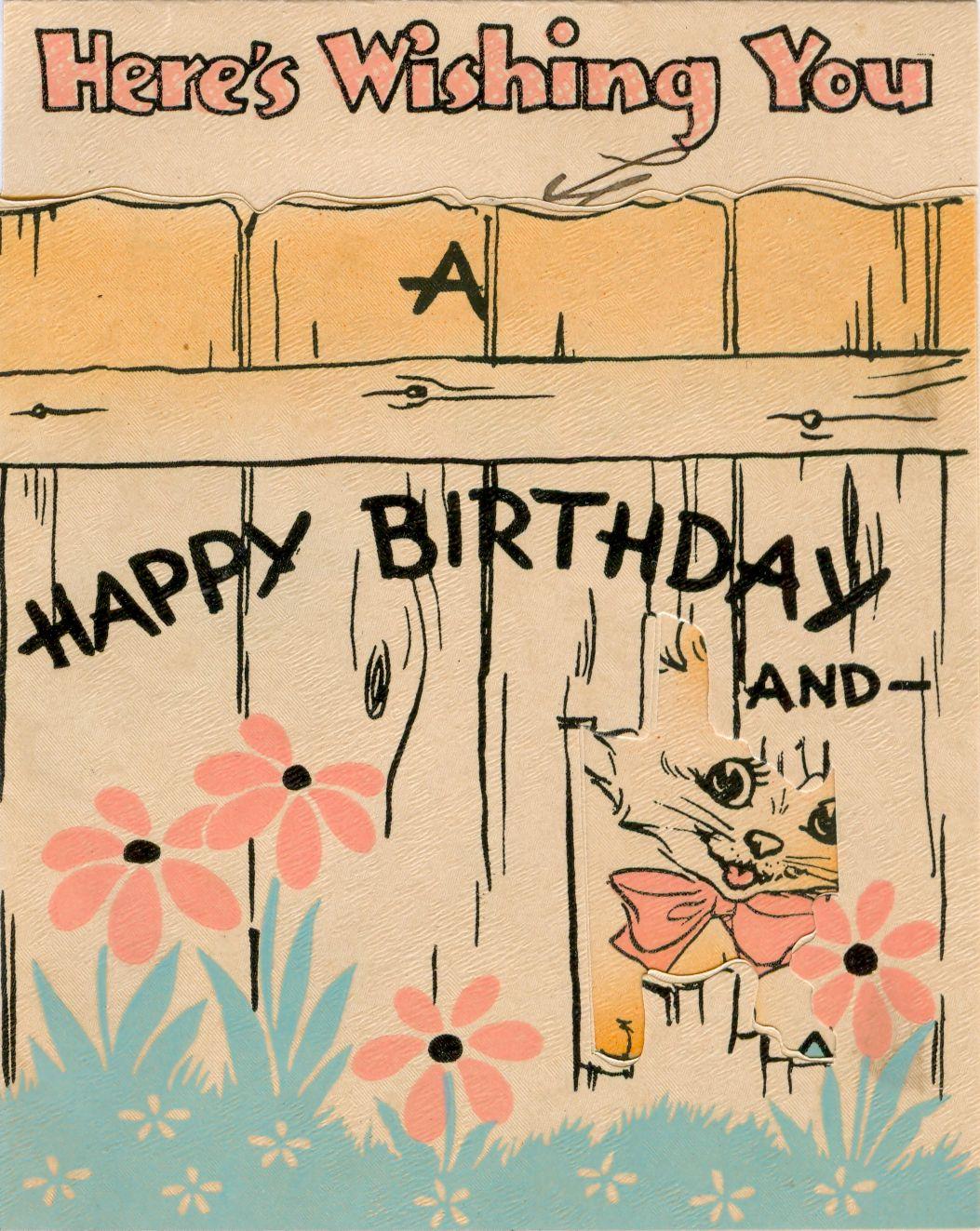 5 B 85 Birthday Card