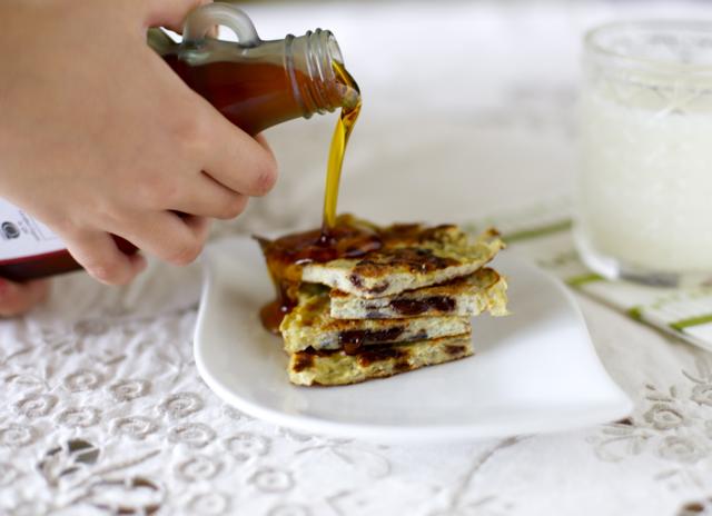 Pancakes de plátano (2 ingredientes) | En mi cocina hoy