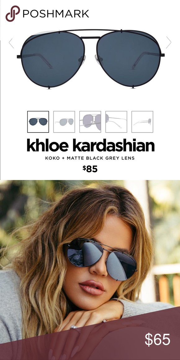61bd9ea6d93c8 Sunglasses Diff sunglasses Khloe Kardashian collection only worn a couple  times excellent condition no scratches comes with case Diff Eyewear  Accessories ...