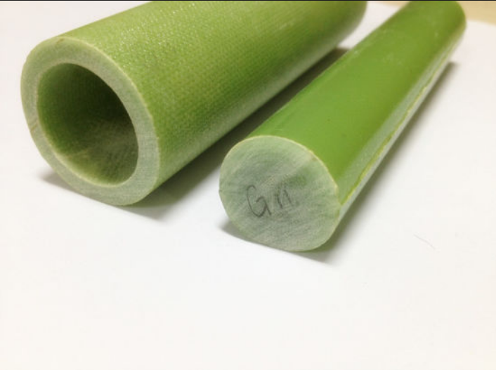 Green FRP FR4 epoxy fiberglass rod It is created from electrical