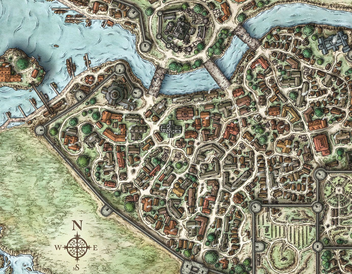 d neverwinter maps map neverwinterdetail 1384
