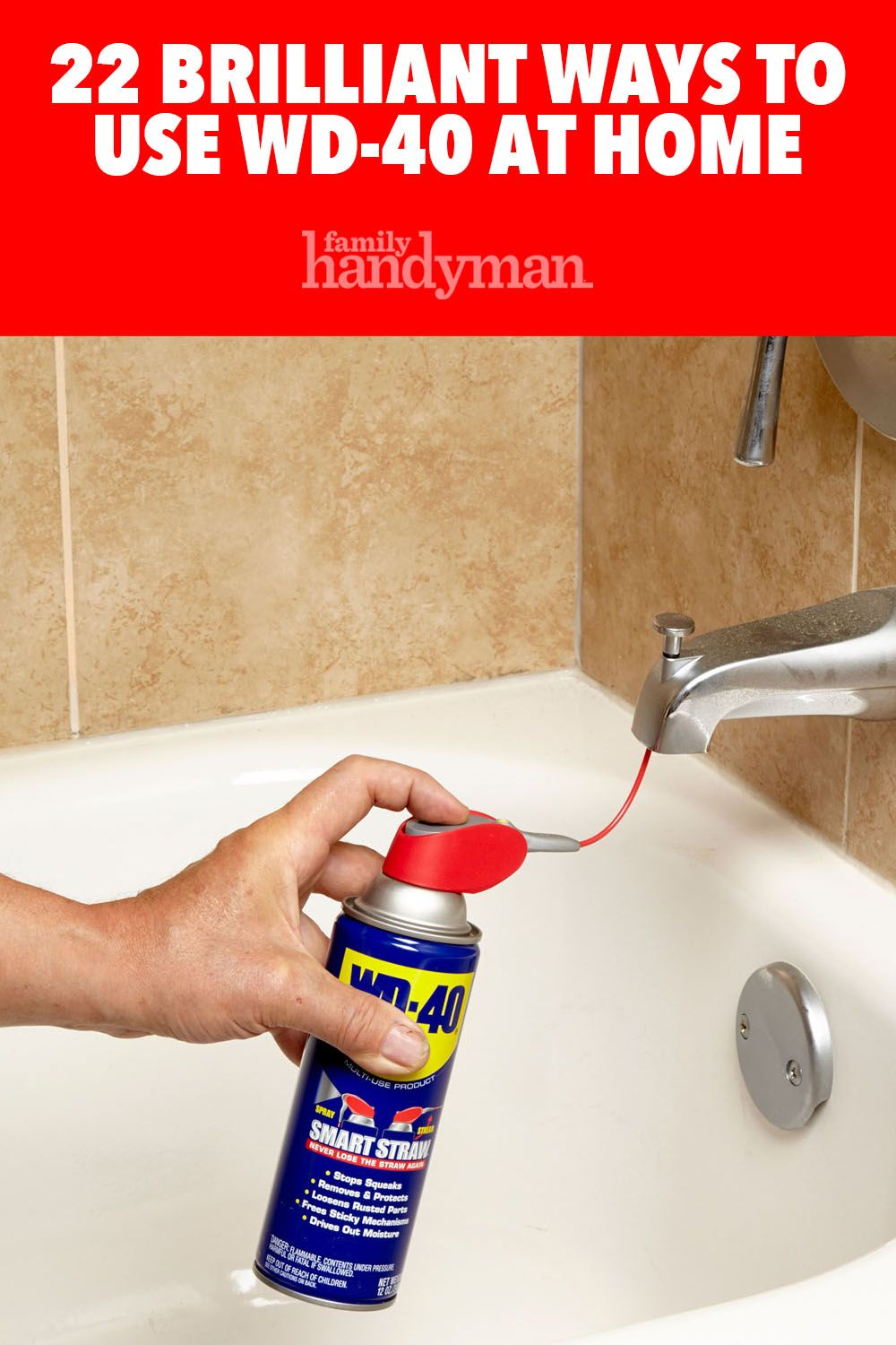 34 Brilliant Ways To Use Wd 40 At Home Diy Home Repair House