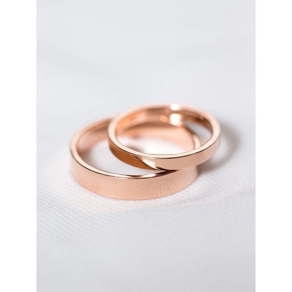 14k Rose Gold His Hers Rings Rose Gold Wedding Rings Matching Wedding 1 210 Wedding Rings Rose Gold Wedding Rings Sets His And Hers Gold Wedding Band Sets