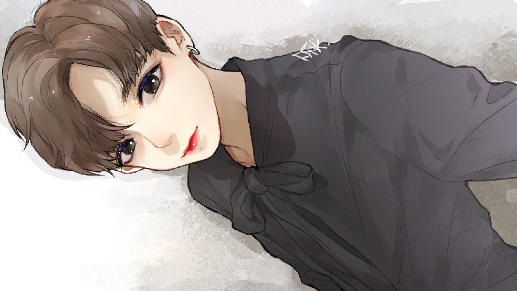 啾 on Bts drawings, Jungkook fanart, Vkook fanart
