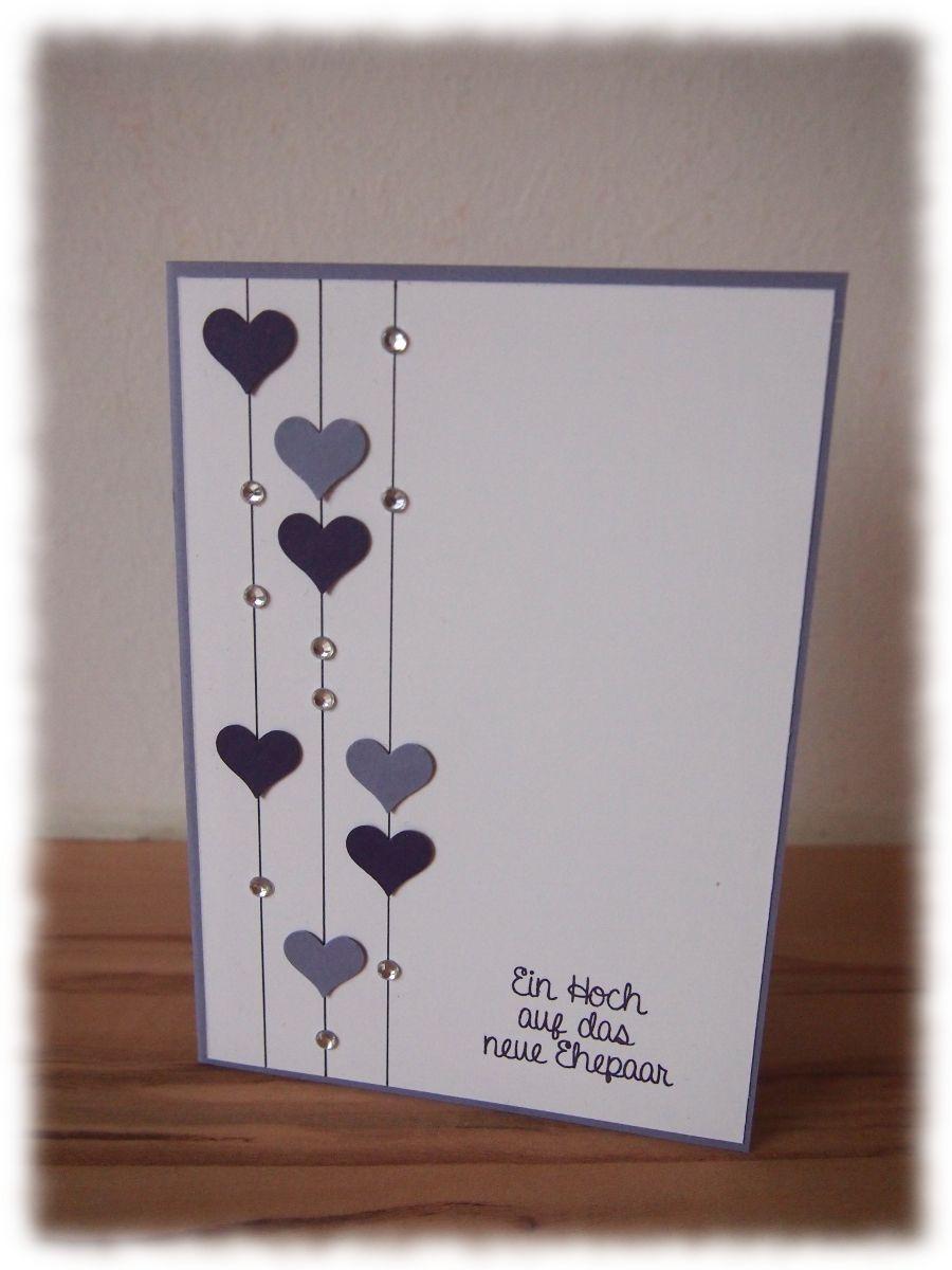 Bildergebnis Für Glückwunschkarte Hochzeit Basteln  Fun Ideas für