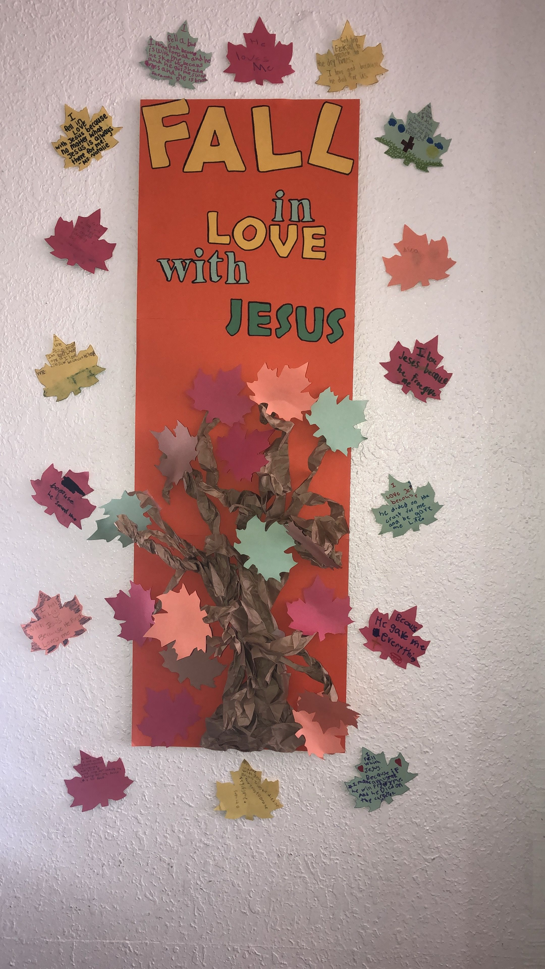 Sunday School Arts And Crafts Objective Lesson Why Did You Fall In