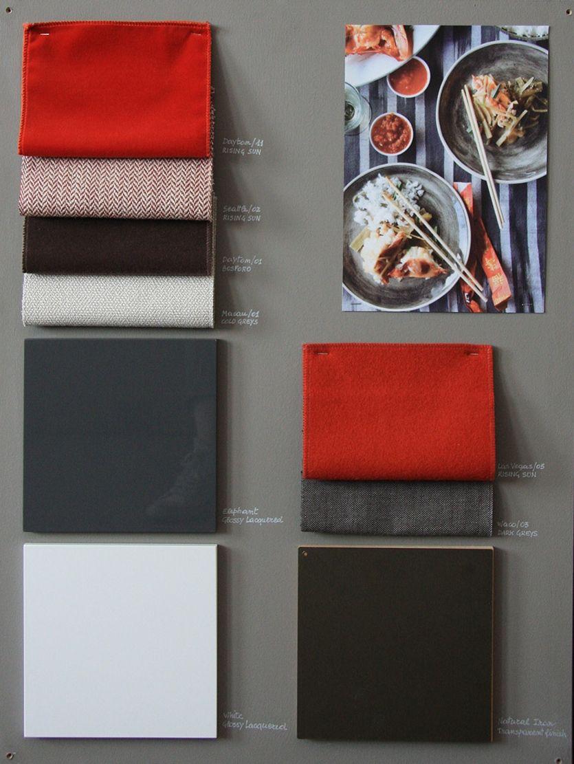 MERIDIANI Fabric Moodboard 3 | Finishes | Mood board ...