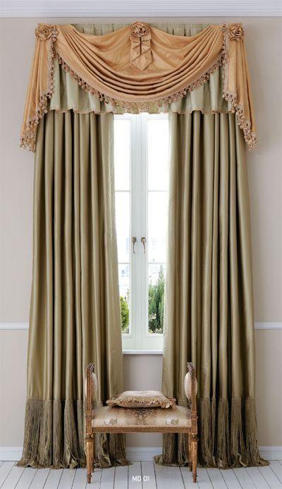 Elegant Window Treatment Normandeauwc