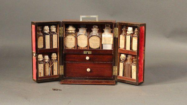 Victorian Era Medicine Chest