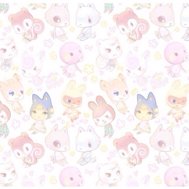 Cute Acnl Background Hintergrundbilder Anime Tiere Ausgestopftes Tier