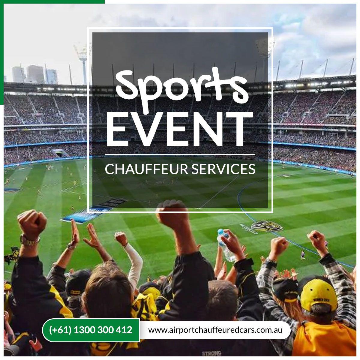 Sports Event Chauffeur Services Chauffeur service