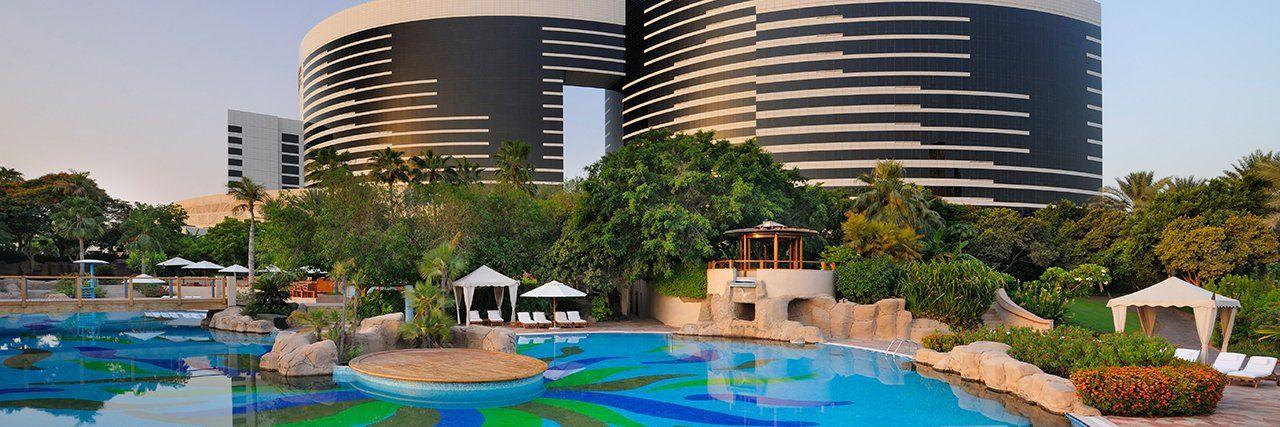 Hotel In Dubai Luxury 5 Star Hotel Grand Hyatt Dubai Luxury Resort Hotels Dubai Hotel Dubai Holidays