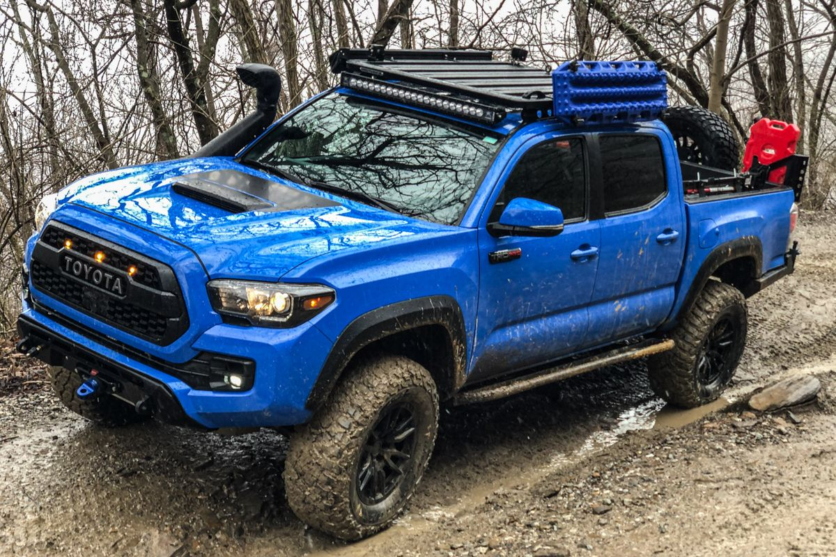 Rhino Rack Roof Rack On Double Cab 3rd Gen Tacoma In 2020 Roof Rack Tacoma Toyota Tacoma 4x4