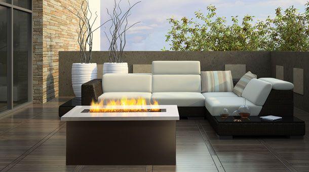 Elmira Stove Works London Regency Outdoor Gas Fireplaces