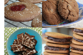 20 recipes for Holiday treats in a free e-book - Grandma Molasses