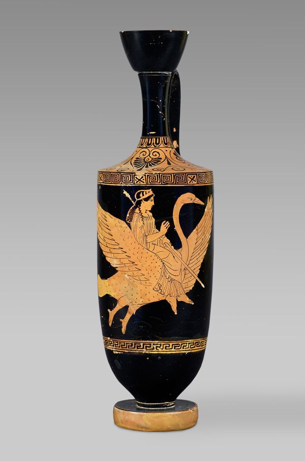 Aphrodite On An Athenian Red Figure Vase From Cyprus 500400 Bc