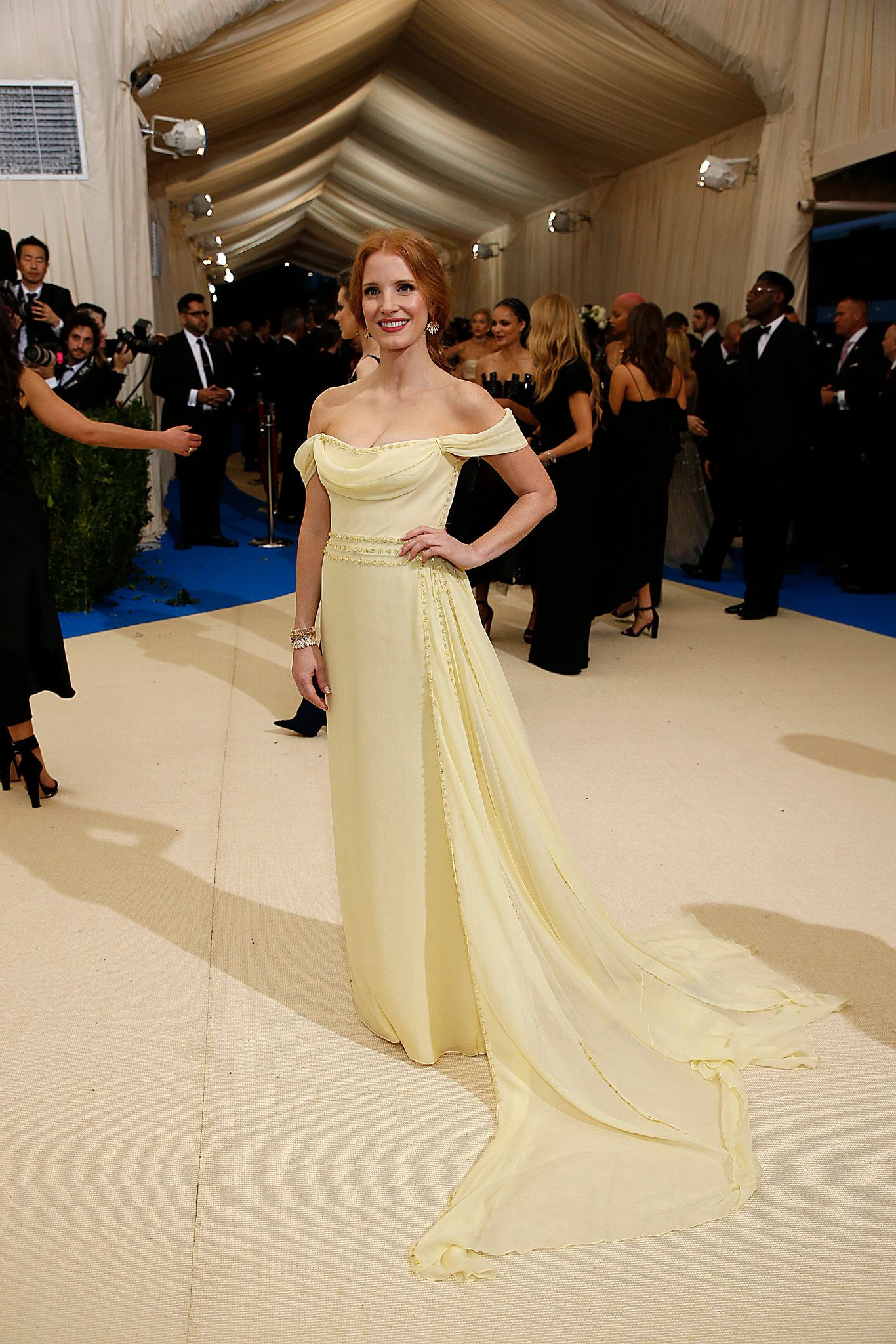 See which celebrities ascended the steps of the Met on Monday night for the so-called Oscars of the East Coast — and, of course, what they wore.