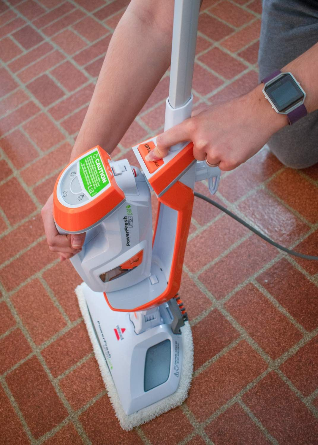 Bissell PowerFresh Pet LiftOff Steam Mop Review (With