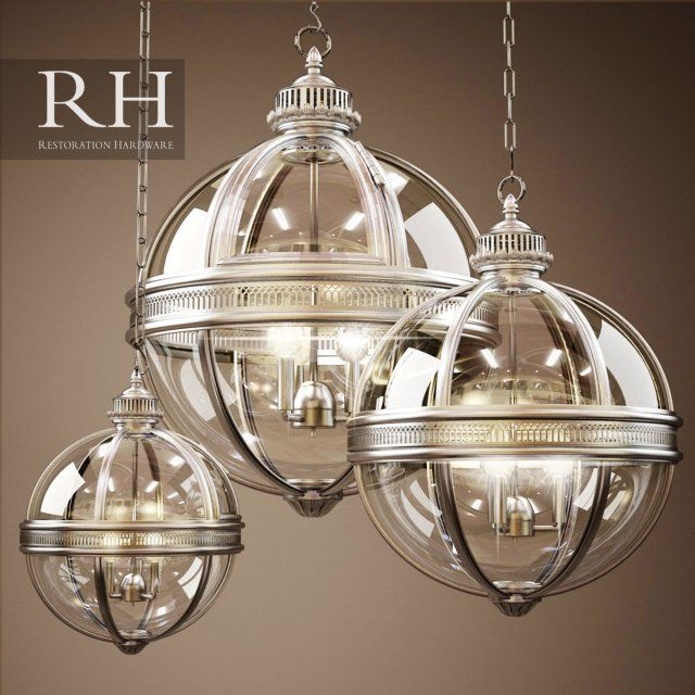 Victorian Kitchen Lighting: Royalty Free VICTORIAN HOTEL PENDANT 3D Model By