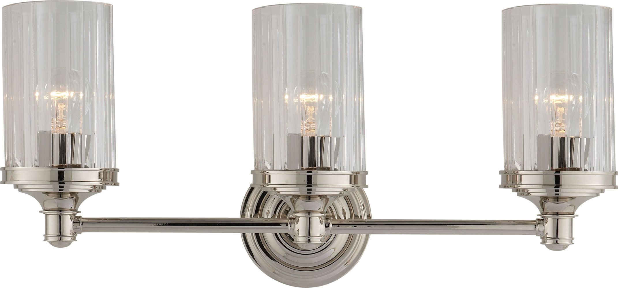 For Bathroom Lighting Over Mirror Circa Lighting AVA TRIPLE - Triple sconce bathroom lighting