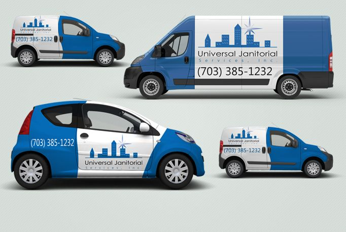 I will put your text or logo on 3d vehicle van car lorry or truck