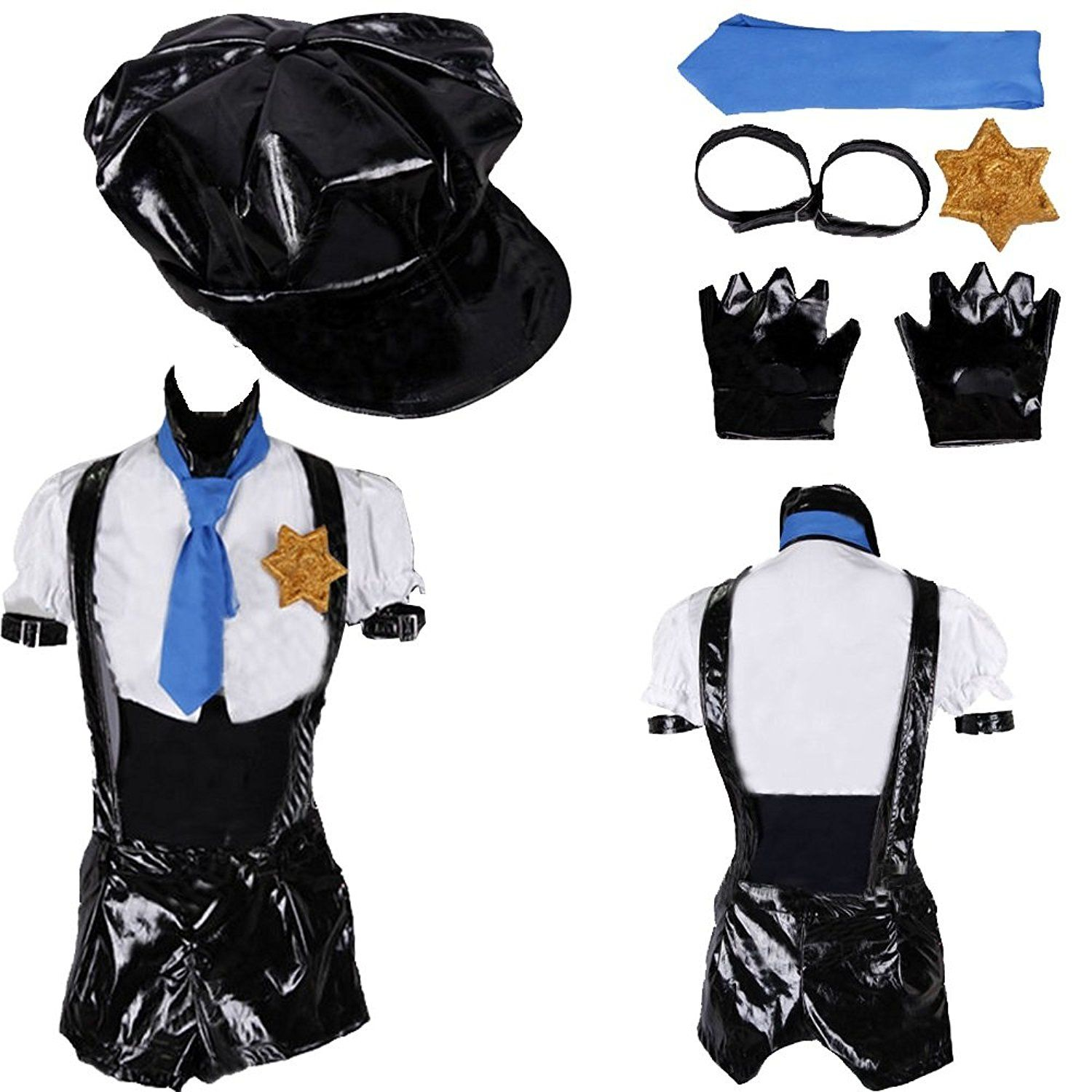 Panty and Stocking Garterbelt Police Cosplay Costume * To view further for this item, visit the image link.