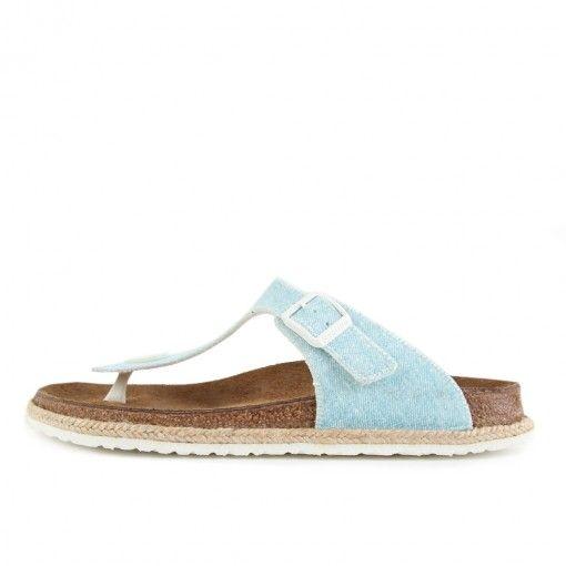959a6cc9ca67 Papillio by Birkenstock Gizeh BF Beach Light Blue  lpu  sneaker  dailydrops   hypesrus
