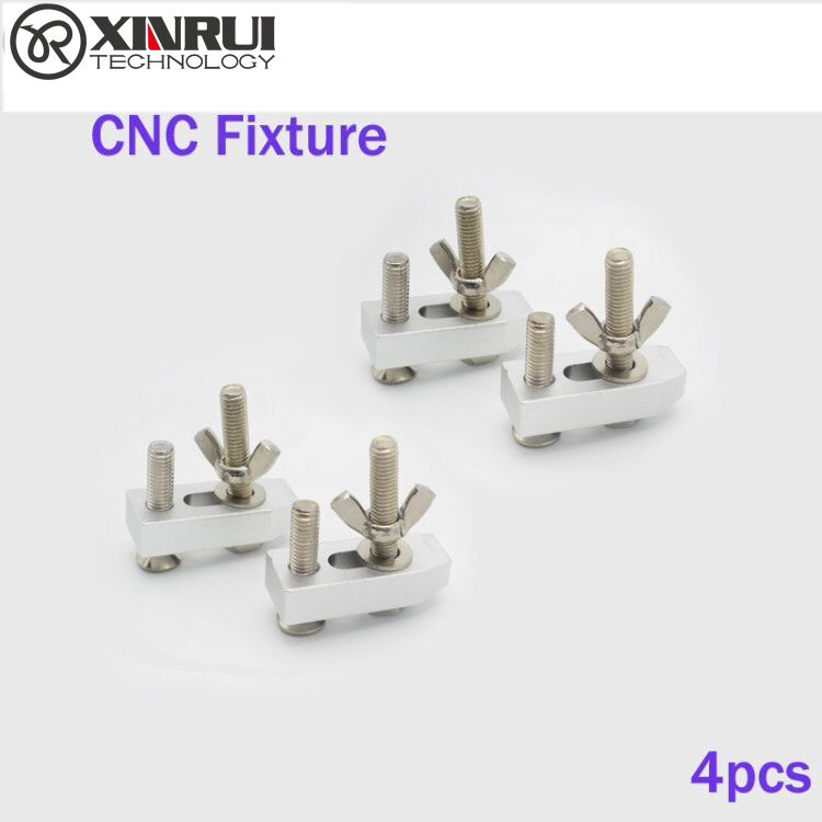 4pcs Clamps CNC 2418 3018 CNC Engraving Machine Work Table Clamp Fastening