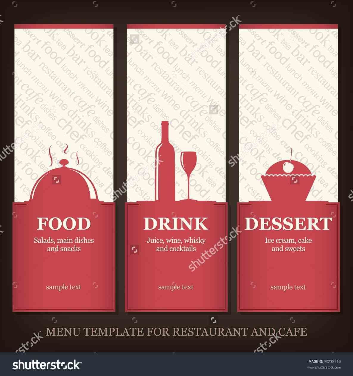 Cafe Graphic Menu Cafe Menu Templates Free Download Design
