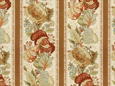 Brunschwig & Fils LA PORTUGAISE RUSSET BR-70341.24 - Brunschwig & Fils - Bethpage, NY, BR-70341.24,Brunschwig & Fils,Print,Multi, Beige,S,Up The Bolt,Floral Large,Multipurpose,United Kingdom,Yes,Brunschwig & Fils,No,Hommage,LA PORTUGAISE RUSSET
