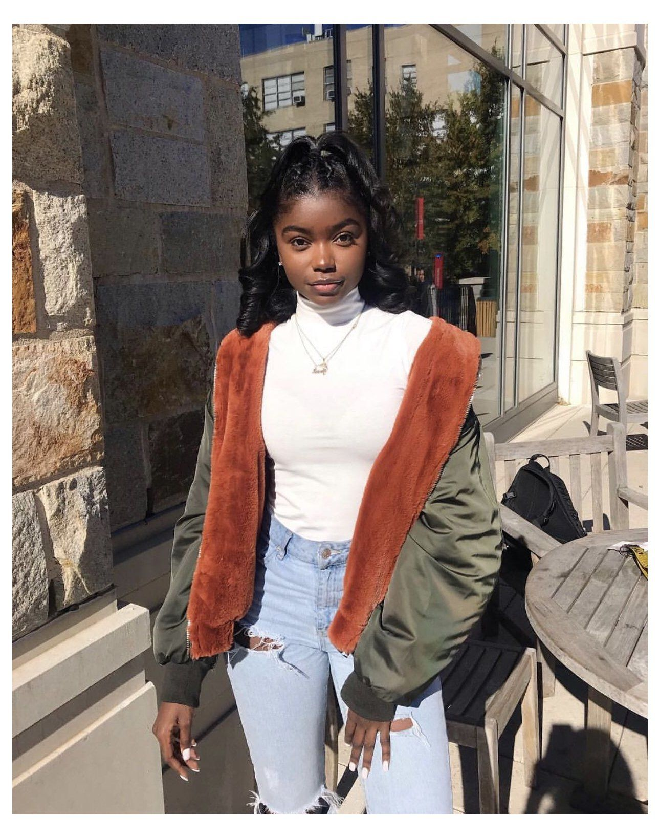 cute outfits for winter black women ...