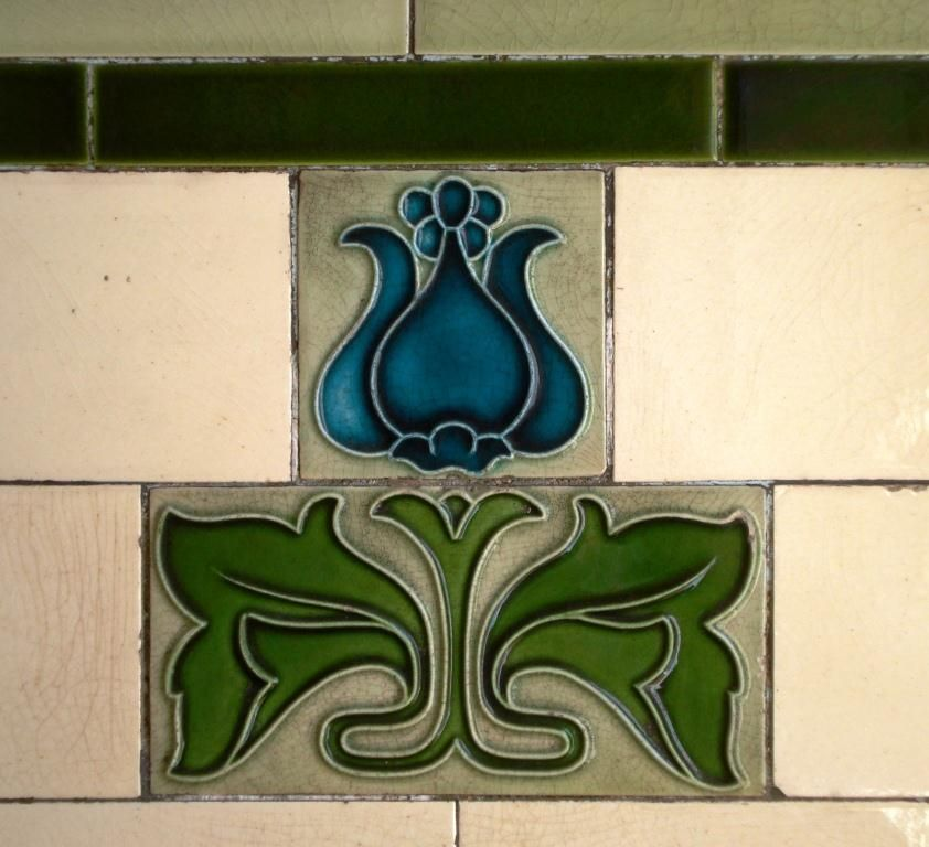 ceramic tile art | ... | Historical Tiles writing about tiles and ...