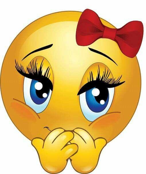 Shy Smiley Funny Emoticons Emoji Love Funny Emoji