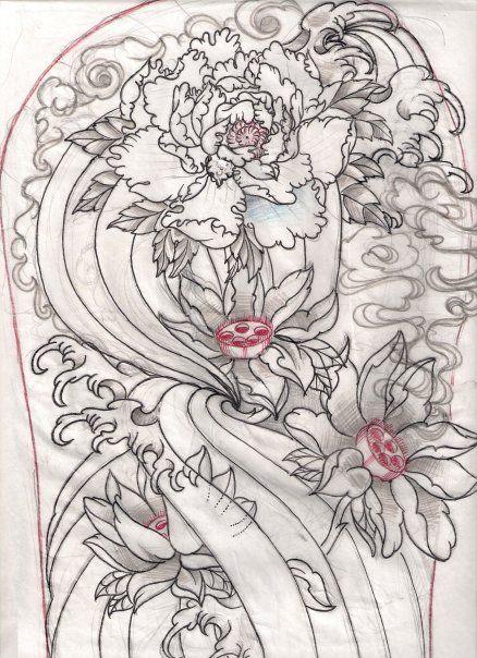 Ink Tattoo Flower Tattoo By Jack Marsh Japanese Tattoo Traditional Japanese Tattoo Flash Traditional Japanese Tattoos