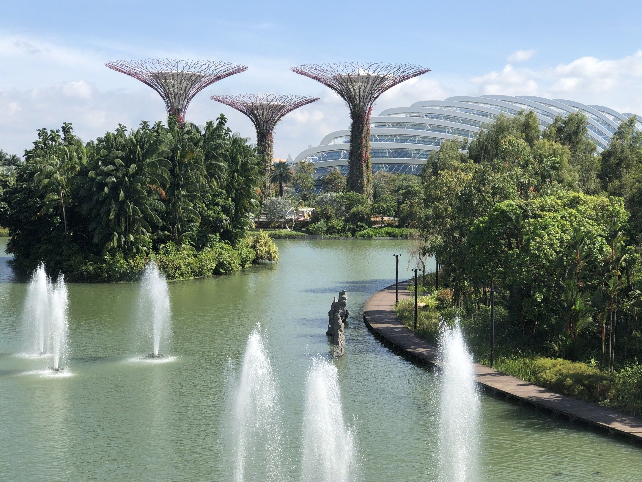 Futuristic Gardens by the Bay is a Feast for the Senses