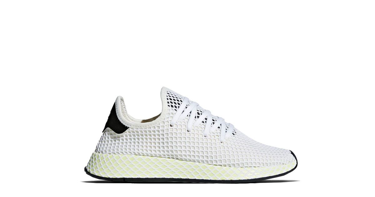 Adidas Originals deerupt Runner blanco tiza cq2629 Adidas, negro